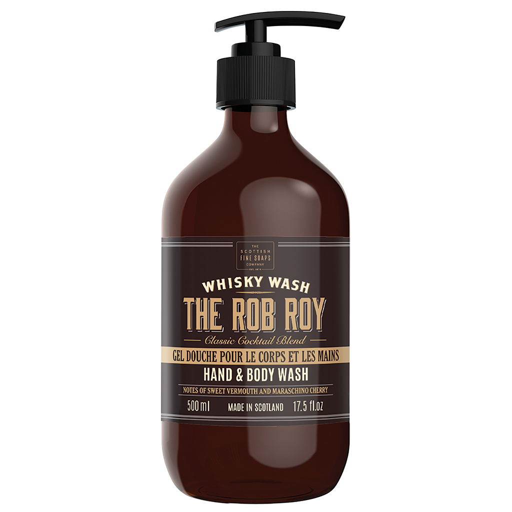 Scottish Fine Soaps Rob Roy Large Hand & Body Wash 500ml