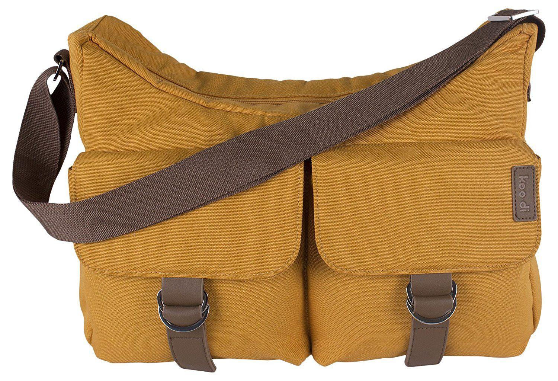 Koo-Di Hobo Shoulder Bag - Mustard