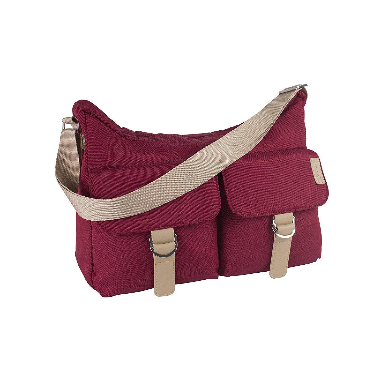 Koo-Di Hobo Shoulder Bag - Raspberry
