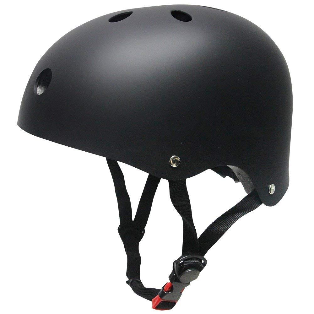 Chaos Kids Scooter Helmet Matte Black