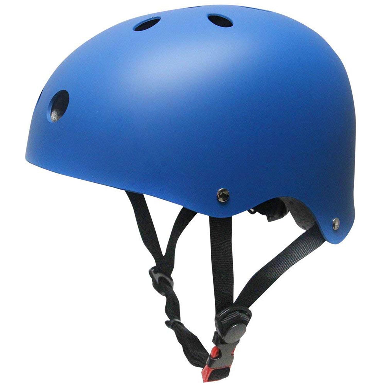 Chaos Kids Scooter Helmet Matte Blue