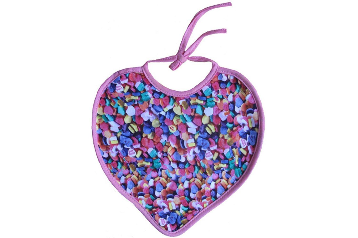Xplorys Sweetheart Baby Bib - Choose your favourite sweets!!! - Candy Hearts