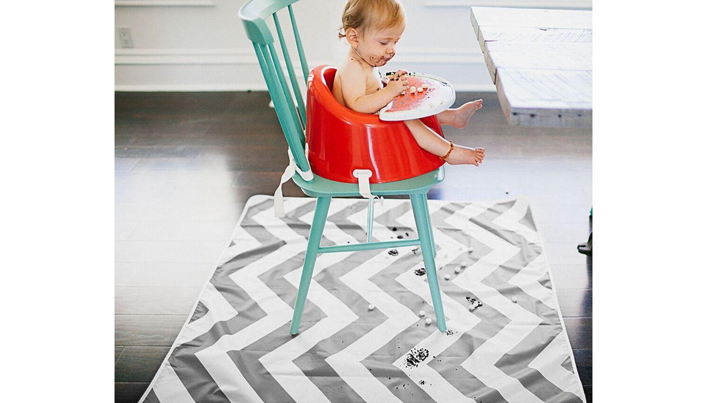 Multi-use Floor Mat Chevron – Grey