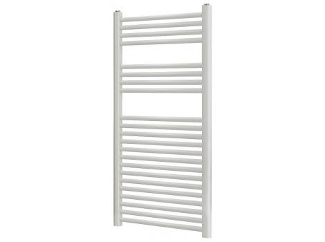 Blyss Leyburn White Flat Ladder Towel Warmer Bathroom Radiator (H)1200mm (W)600mm