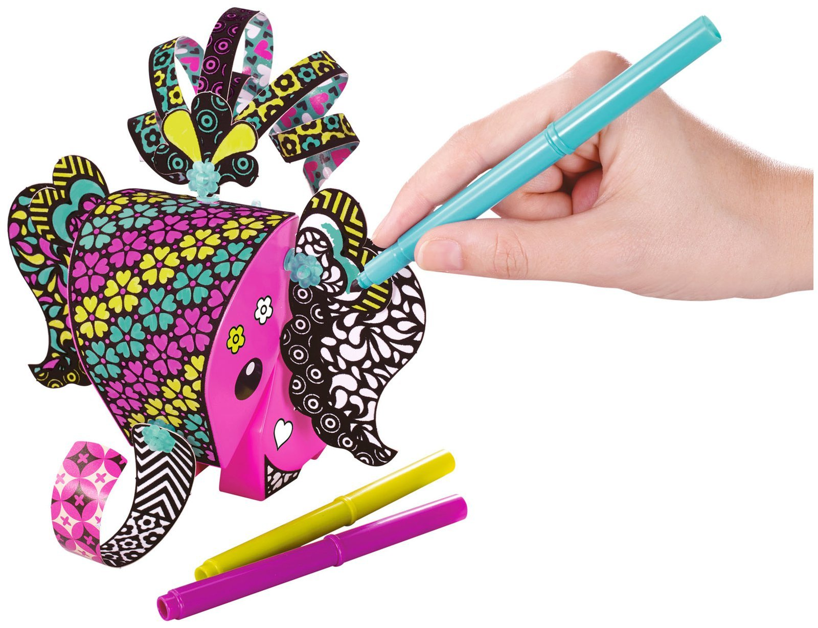 Amigami Large Set: Elephant with Colour Guide Paper