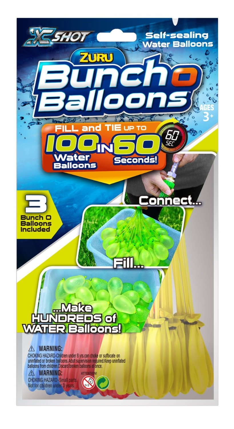 Zuru Bunch O Balloons - Fill 100 Water Balloons In 60 Seconds