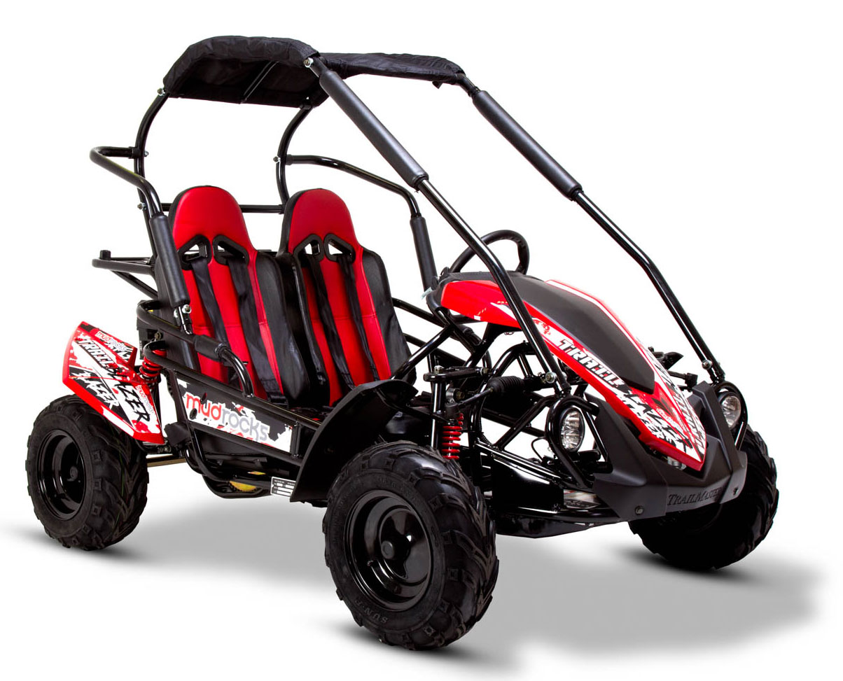 FunBikes GT80 Trail Blazer 200cc Red Midi Off Road Buggy
