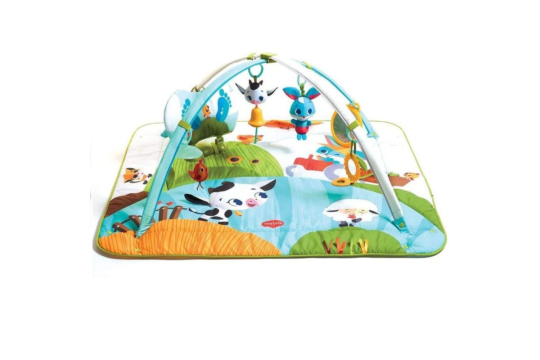 Tiny Love Gymini Kick & Play, Baby Play Mat 0+ mths - Tiny Farm
