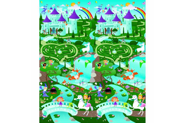 Play Mat - Fantasy Land - Fantasy Land/City