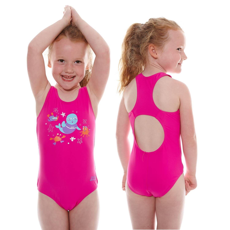 Swimming Costume Pink - 1-2 years
