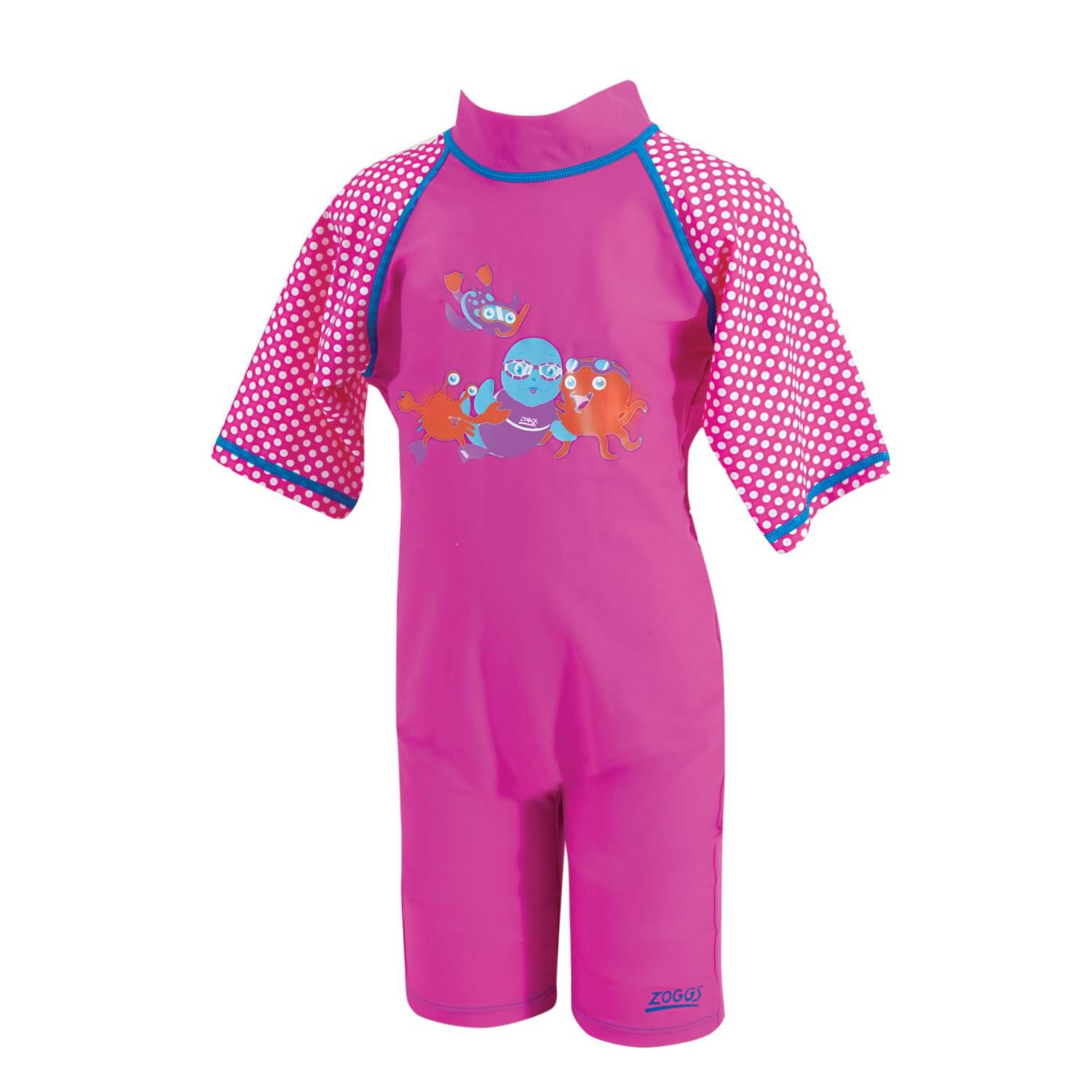 Sun Protection Swimsuit Pink - 2-3 Years