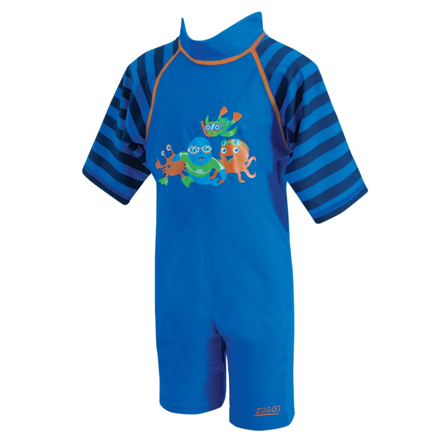 Sun Protection Swimsuit Blue - 1-2 years