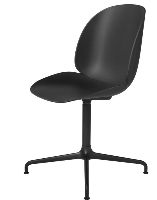 Beetle Meeting Chair 4 Star Swivel Base Unupholstered