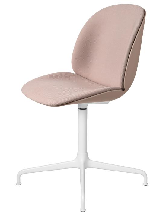 Beetle Meeting Chair 4 Star Swivel Base Front Fully Upholstered
